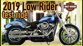 5. 2019 Harley Davidson Low Rider Test Ride
