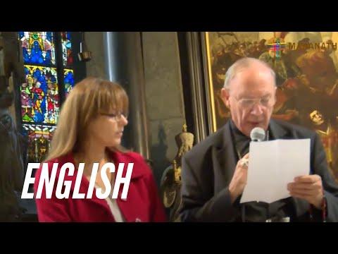St. Stephen's Cathedral, Vienna, 29th September 2015 - Mgr Leonard &  Sabrina Covic