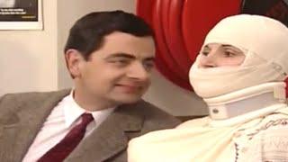MrBean - Mr Bean - Teasing bandaged lady