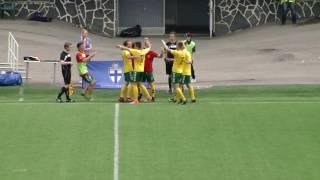 U-19 Baltijos taurės rungtynės lietuva-Latvija 2017 06 10