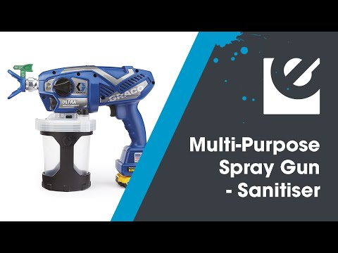 Graco UltraMax Cordless Handheld Sprayer Video
