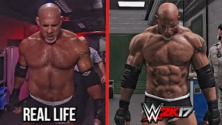 The entrances comparison of WWE 2K17 vs Real Life featuring Goldberg, Finn Balor, Sting, Undertaker & Eddie Guerrero.Subscribe to Bestintheworld https://goo.gl/bh0dMlFollow me on Twitter https://goo.gl/g2hpKr