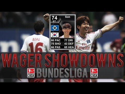 FIFA 13 Ultimate Team Wager Matches Bundesliga | 230k IF Son Wager! #3