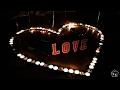 LOVE / Сюрприз из свечей / Романтика.