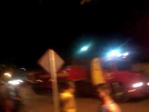 Incêndio em Paranavaí dia 30/08/2012