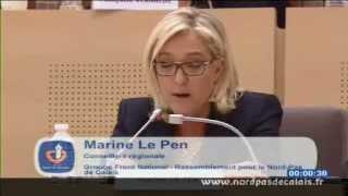Video Intervention de Marine Le Pen au conseil régional du Nord-Pas-de-Calais 29-11-2012 MP3, 3GP, MP4, WEBM, AVI, FLV Mei 2017