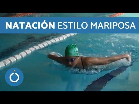Cómo nadar Mariposa