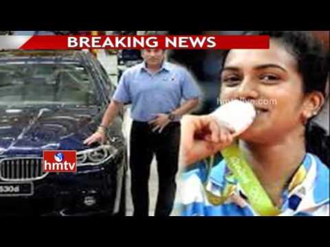 Sachin Tendulkar to Present BMW Car to Shuttler PV Sindhu Today in Hyderabad