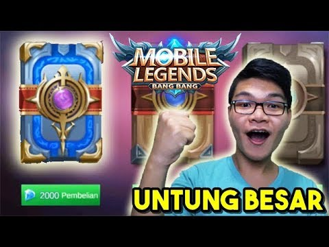 KETIKA  ̶B̶U̶K̶A̶N̶  SULTAN BUKA BUKU 2000 DIAMOND (Mobile Legends)