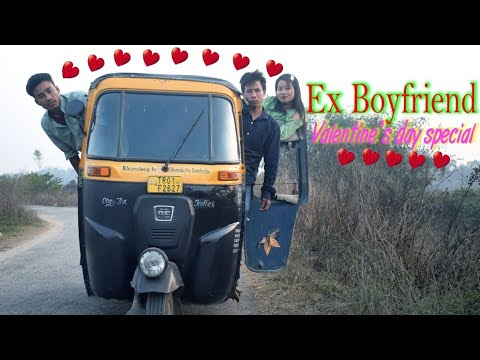 Ex Boyfriend   Valentine's Day Special  lila tei bishal   ksf   2021   kokborok short film