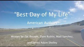 """Best Day of My Life"" - American Authors Lyric Video Flight KOKB to Catalina Island (KAVX Airport)"