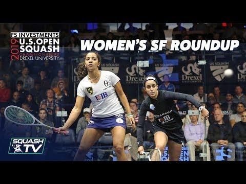 Squash: U.S. Open 2019 - Women's Semi Final Roundup