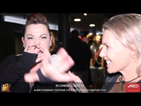 Alien Covenant NZ Premiere with One Take Kate