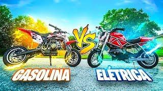 Chipart - MINI MOTO GASOLINA VS ELÉTRICA ‹ PORTUGAPC ›