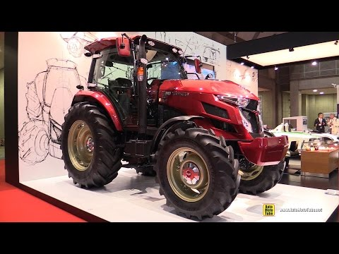 2016 Yanmar YT5113 Tractor Limited Edition - Exterior, Interior Walkaround - 2015 Tokyo Motor Show