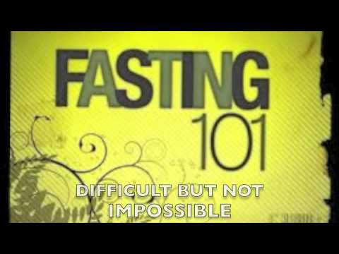 Lent: A Time of Fasting