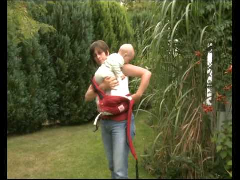 How to Use the Manduca Baby Carrier in Hip Carry Position