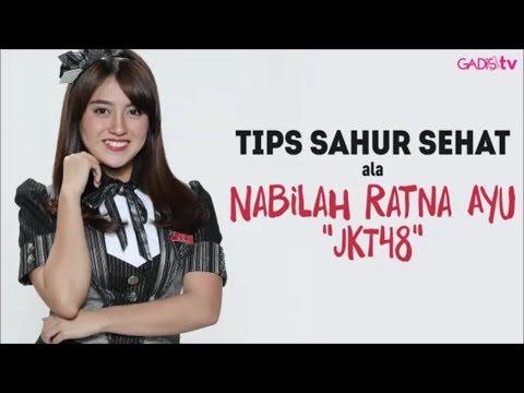 Tips Sahur Sehat ala Nabilah Ratna Ayu