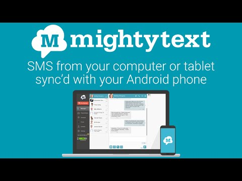 Video of SMS Text Messaging & Group MMS