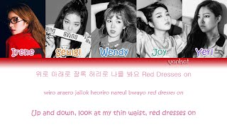 Red Velvet - Red Dress (Color Coded Han|Rom|Eng Lyrics)