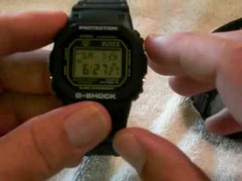 DW 5600 - In this video I compare the 3 modules of the classic G-Shock 5600 line-up by Casio.