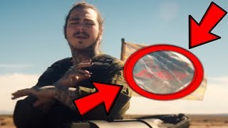 10 Things You Missed in Post Malone - Psycho ft. Ty Dolla $ign (Music Video)