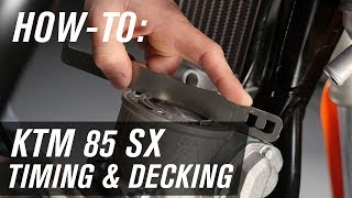 9. How To Set Decking and Timing | KTM 85SX - Nihilo Concepts Tool