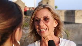 Concita De Gregorio con Lievito madre all'Ischia Film Festival 2018