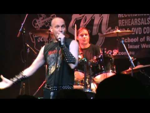 Frozen Doberman - Stealth[13.03.2010] [Manning Bar.Sydney] ... online metal music video by FROZEN DOBERMAN