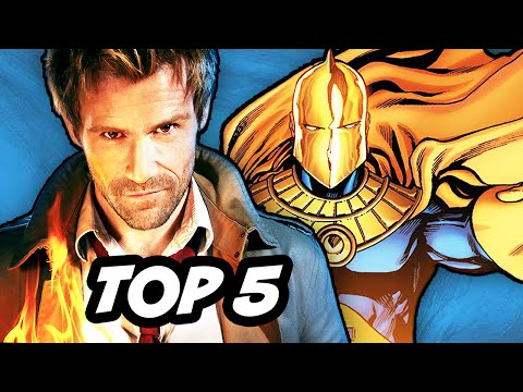 Constantine Episode 8 Review and Hellblazer Easter Eggs