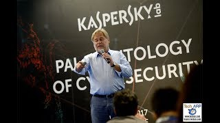 In this engaging 35-minute talk, Eugene Kaspersky shares with us his opinions on the evolving cybersecurity threats and how we can survive them. Read more @ http://www.techarp.com/articles/eugene-kaspersky-cyberspace-guide/Tech ARP  www.techarp.com  forums.techarp.com