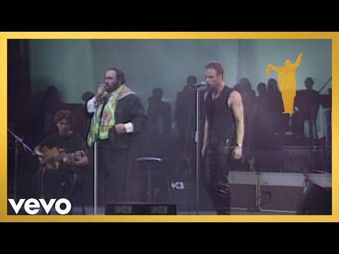 Luciano Pavarotti, Sting - Franck: Panis Angelicus (Live)