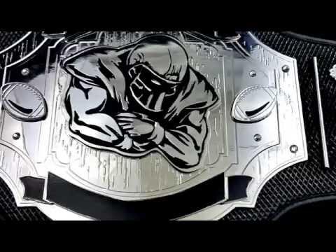 Fantasy Football Belt Pass Rush Custom Championship Title Award Trophy