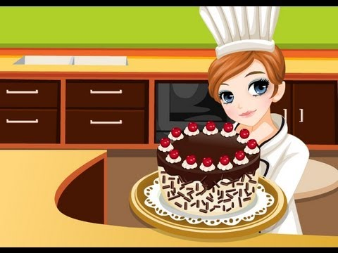 Tessa's Cooking Kirschtorte - Cooking Games - Mary.com