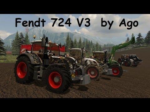 Fendt Vario 724 SCR v3.0 Communal