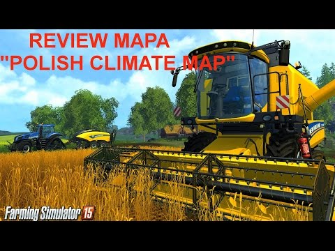 Polish Climate Map