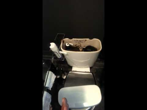 How to fix toilet making noise after flushing