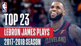 Nonton LeBron James' Top 23 Plays From 2017-2018 Season Film Subtitle Indonesia Streaming Movie Download