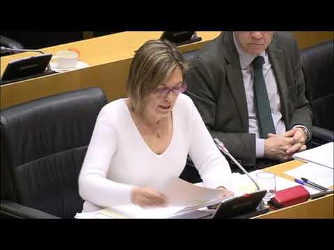 Intervención de Mila Marcos, portavoz de Agricultura del GPP, en el Congreso de los Diputados.