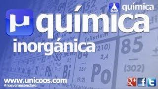 Inorganica 02 hidruros OXIDOS sales binarias PEROXIDOS unicoos quimica