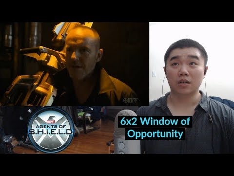 Agents of SHIELD Season 6 Episode 2 Window of Opportunity- Reaction and Discussion!
