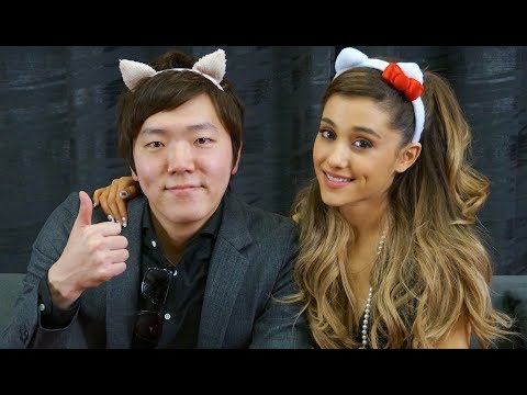 Ariana Grande Sounds AMAZING Singing With Japanese Beat boxer!!