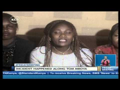 A lady stripped naked and sexually assaulted by Matatu operators