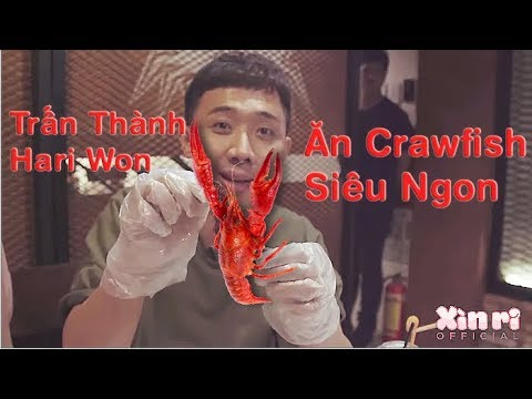 Xìn Ri Couple -Trấn Thành Hari ăn Crawfish Siêu Ngon - Thời lượng: 22:17.