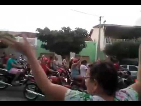 Marcelino Vieira -RN, diz NÃO AO GOLPE. Cidade interiorana mais ou menos 8 mil pessoas.