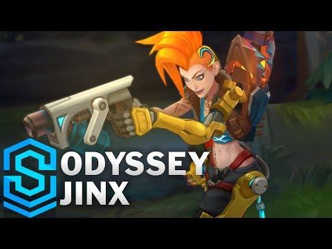Jinx Siêu Quậy Không Gian - Odyssey Jinx Skin
