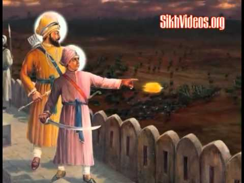 Sahibzada - Copyright http://sikhvideos.org/video-details.asp?id=40 Poetic description of the Great Bravery and Valor of Baba Ajit Singh Ji Varian Nu Soorma Ajit Lalkard...