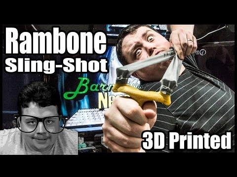 3D Slingshot Rambone