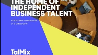 Talmix: Live Broadcast and Panel discussions