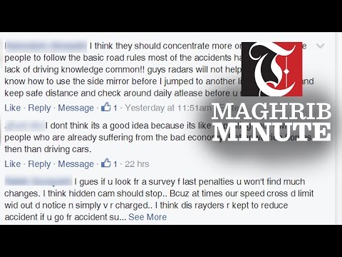 Social media reactions to increased traffic fines